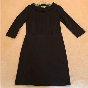 Boden Black 3/4 Sleeve Dress